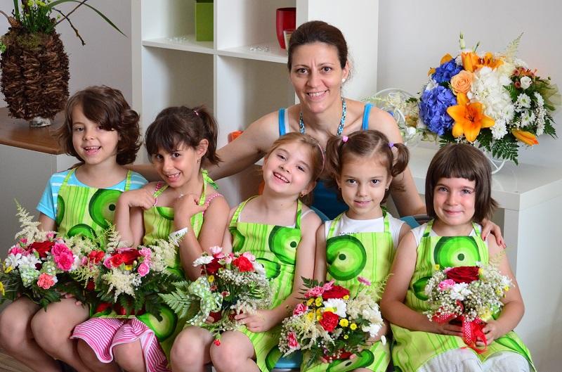 Cursuri hobby de creatie florala pentru copii